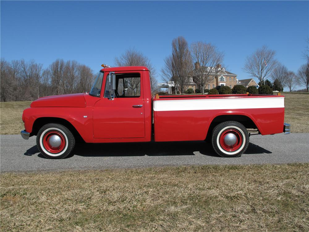 1964 INTERNATIONAL 1100 PICKUP - Side Profile - 89277