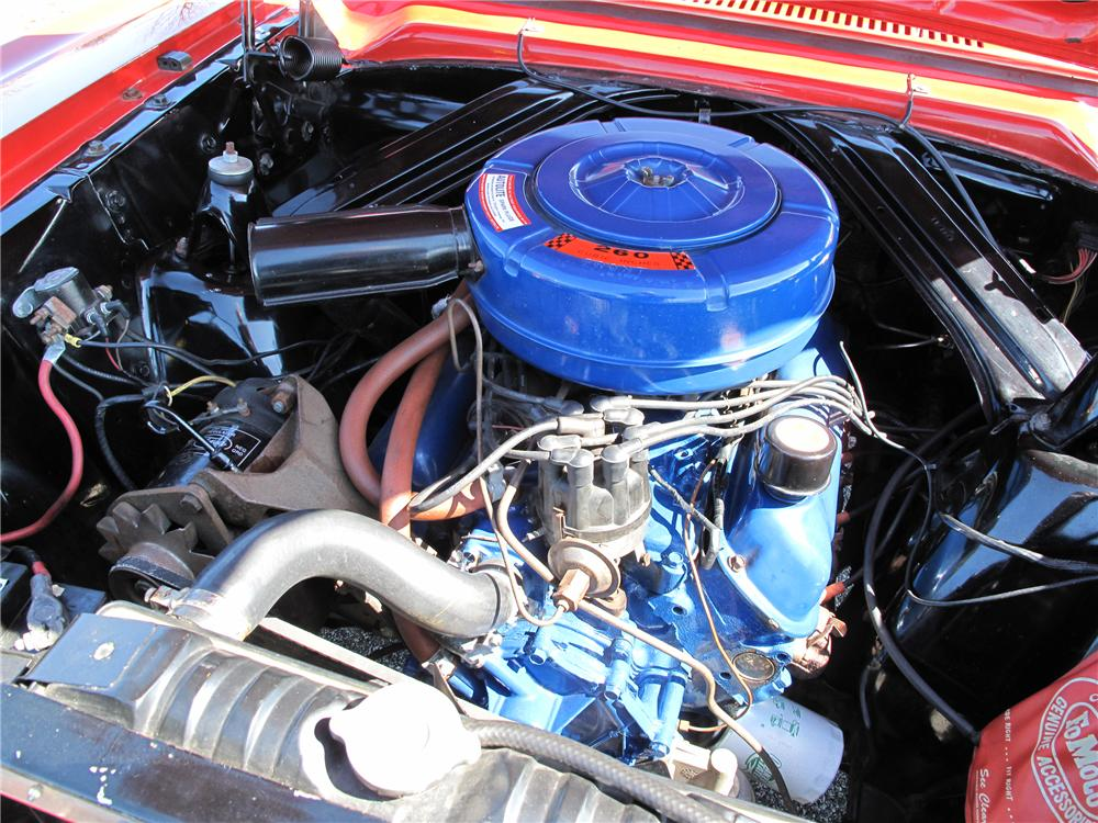 1964 FORD FALCON 2 DOOR CONVERTIBLE - Engine - 89279