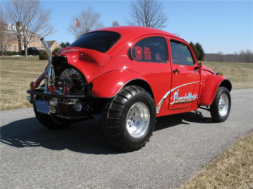 1973 VOLKSWAGEN BEETLE DUNE BUGGY - Rear 3/4 - 89281