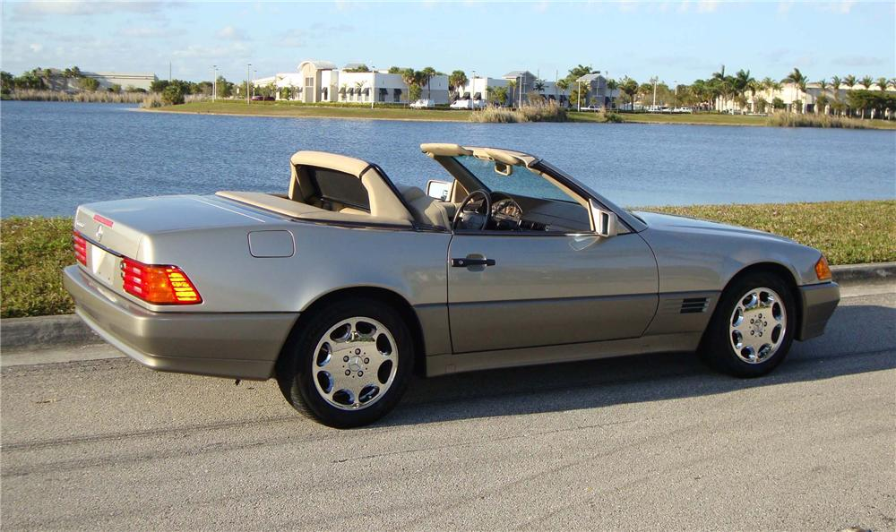 1994 MERCEDES-BENZ 500SL ROADSTER - Rear 3/4 - 89287