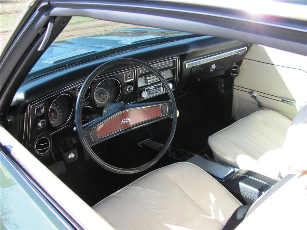 1969 chevelle ss interior coupe chevrolet