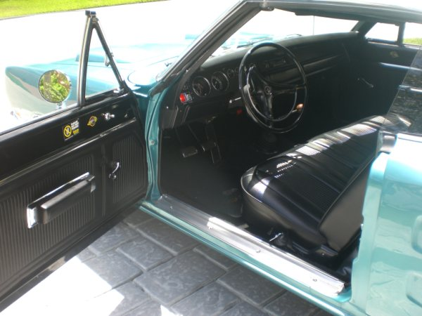 1969 DODGE SUPER BEE 2 DOOR HARDTOP - Interior - 89290