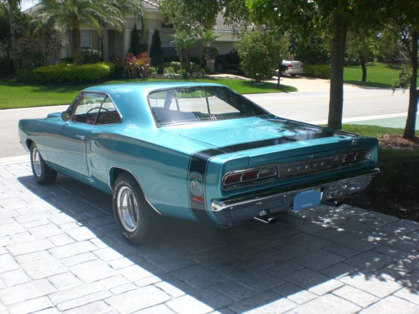 1969 DODGE SUPER BEE 2 DOOR HARDTOP - Rear 3/4 - 89290