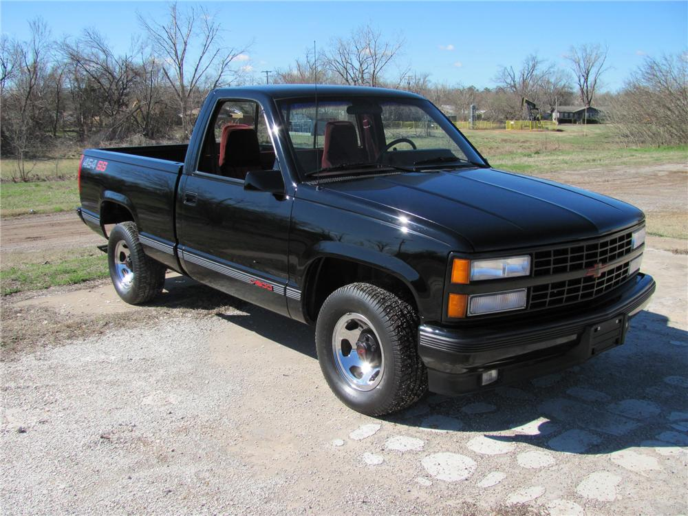 1990 CHEVROLET 454SS PICKUP - Front 3/4 - 89292