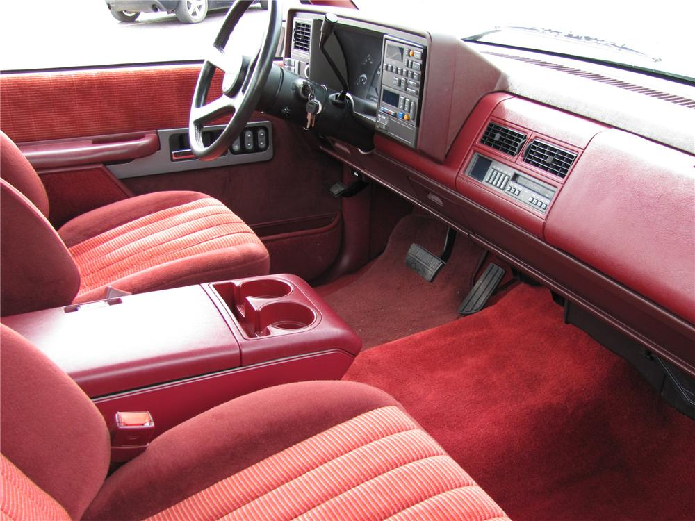 1990 CHEVROLET 454SS PICKUP - Interior - 89292