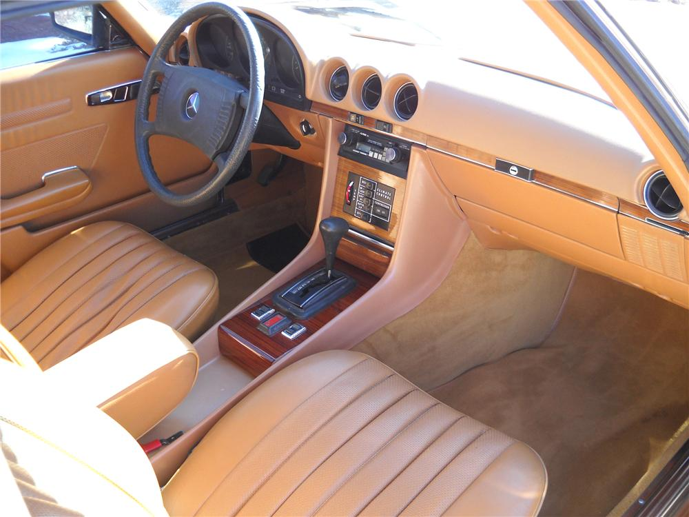1978 MERCEDES-BENZ 450SL CONVERTIBLE - Interior - 89296