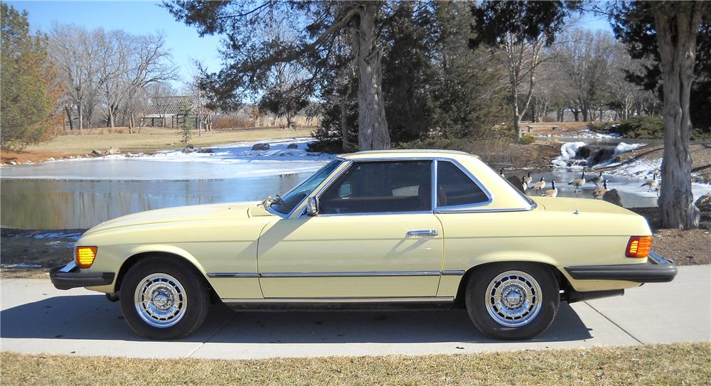 1978 MERCEDES-BENZ 450SL CONVERTIBLE - Side Profile - 89296