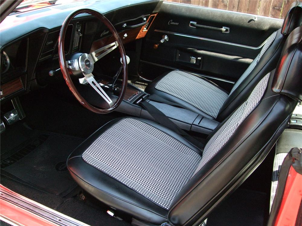 1969 CHEVROLET CAMARO Z/28 2 DOOR HARDTOP - Interior - 89303