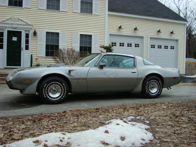 1979 PONTIAC TRANS AM COUPE - Side Profile - 89317