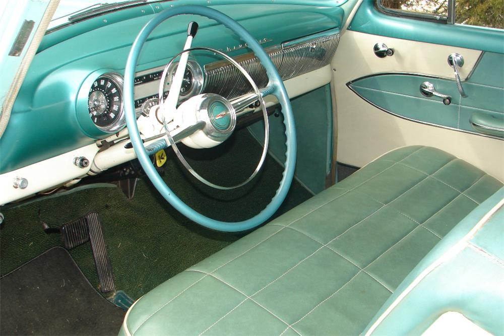 1954 CHEVROLET 210 2 DOOR SEDAN - Interior - 89320