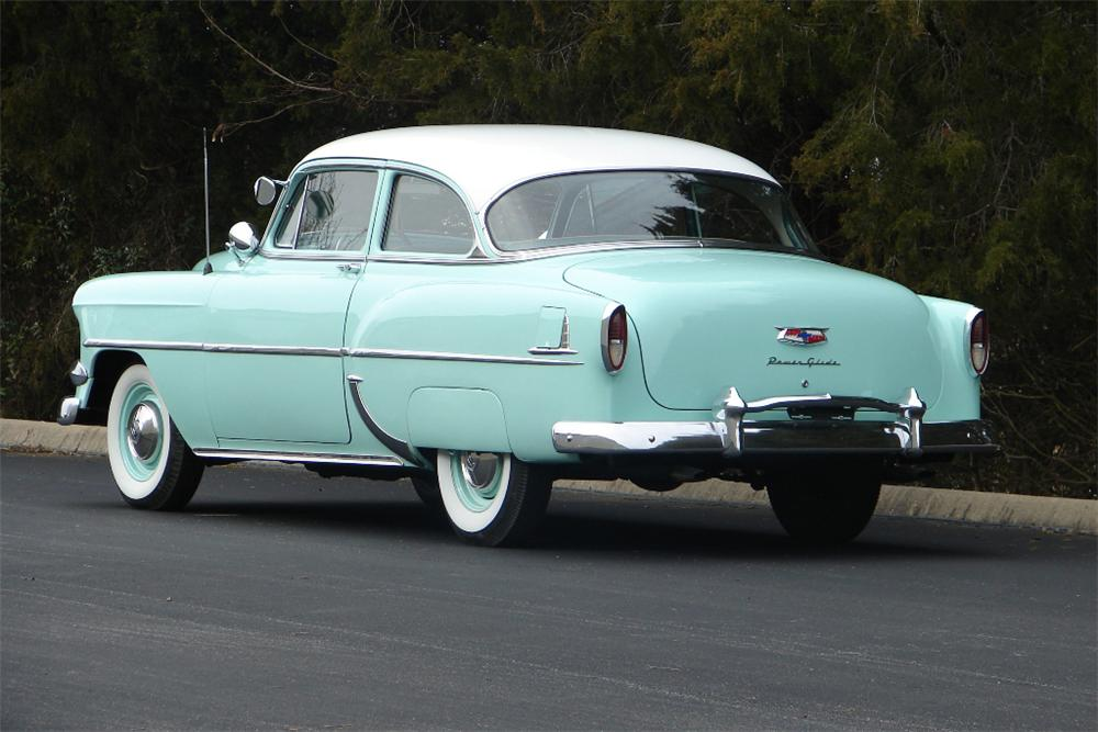 1954 CHEVROLET 210 2 DOOR SEDAN - Rear 3/4 - 89320