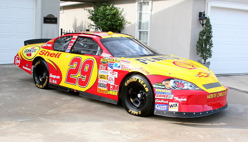 2002 CHEVROLET MONTE CARLO #29 SHELL PENNZOIL NASCAR - Side Profile - 89327