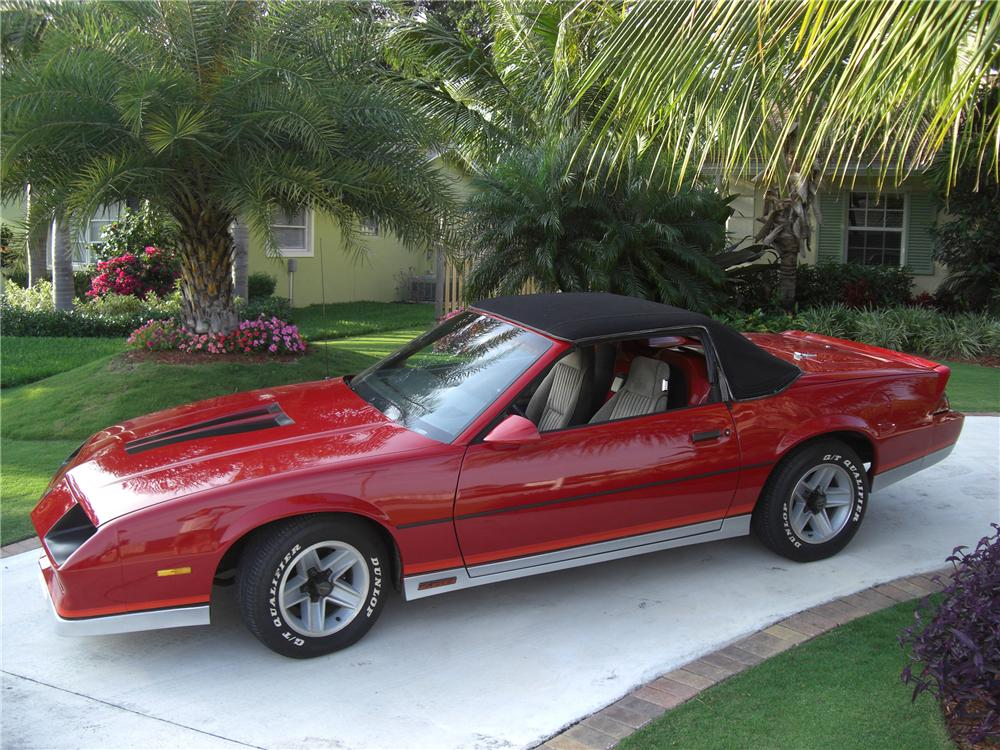 1983 Chevrolet Camaro Z 28 2 Door Convertible Conversion