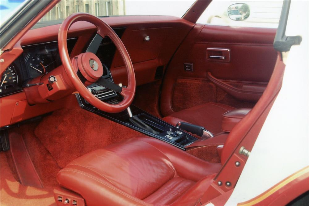 1982 CHEVROLET CORVETTE 2 DOOR COUPE - Interior - 89329