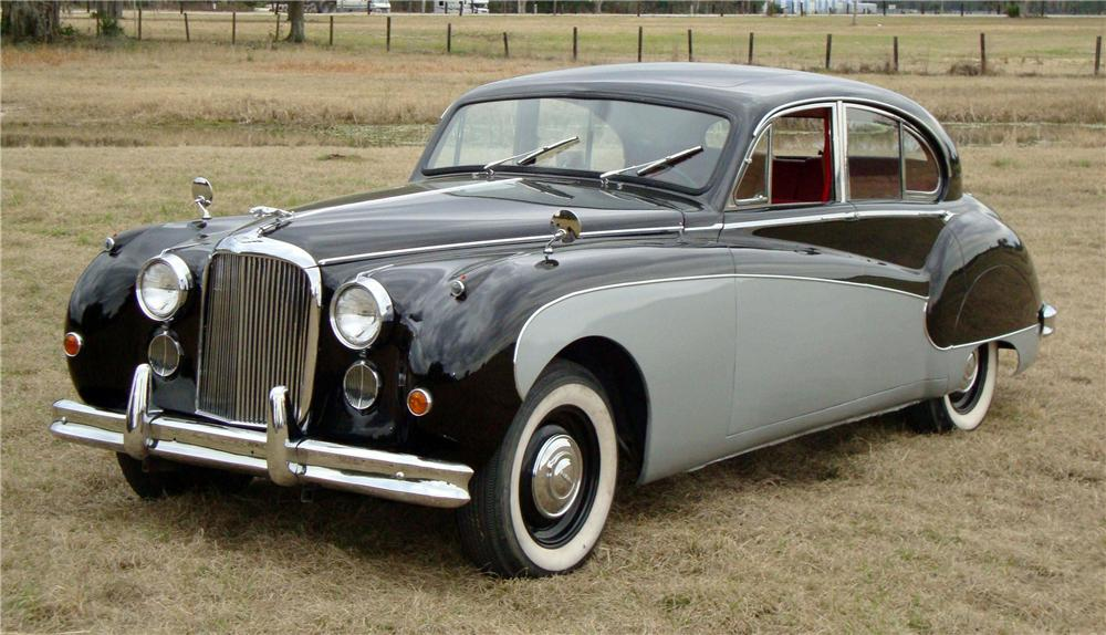 1959 JAGUAR MARK IX 4 DOOR SEDAN - Front 3/4 - 89333