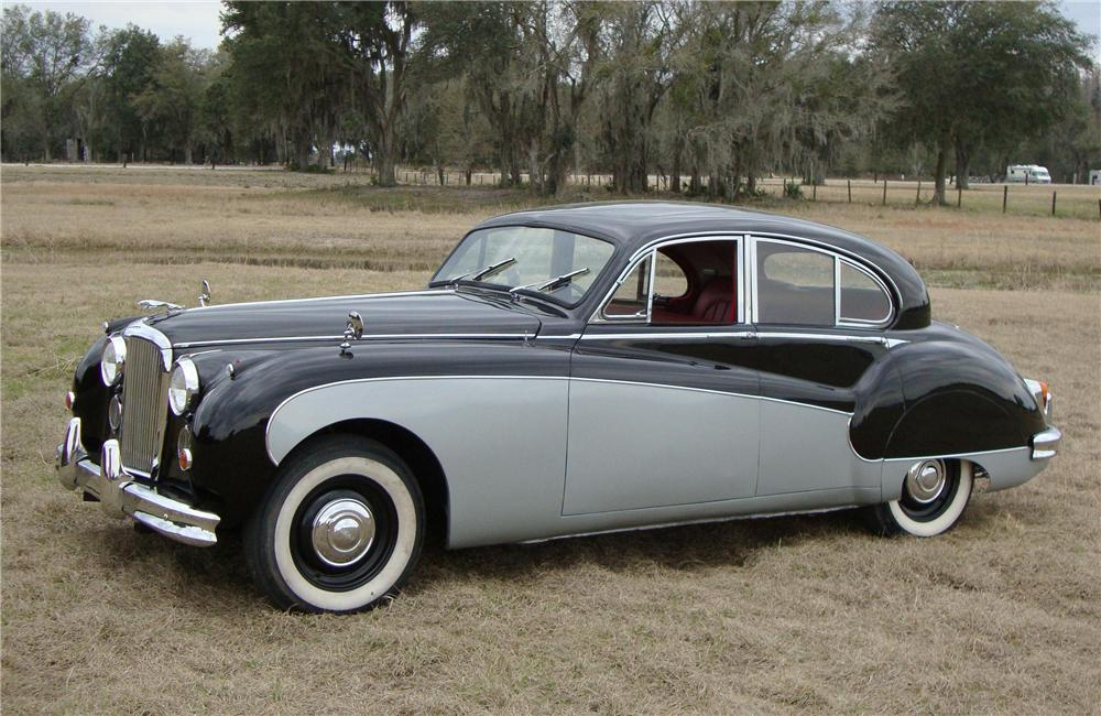 1959 JAGUAR MARK IX 4 DOOR SEDAN - Side Profile - 89333
