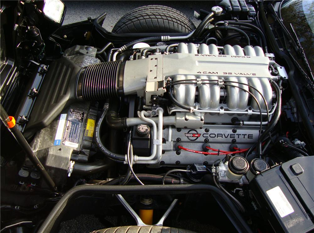 1990 CHEVROLET CORVETTE ZR1 COUPE - Engine - 89334