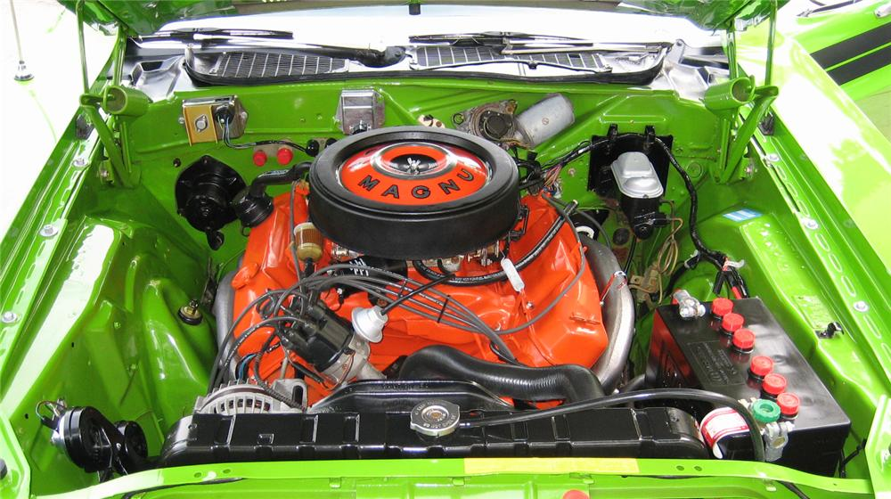 1971 DODGE CHALLENGER 2 DOOR COUPE - Engine - 89336
