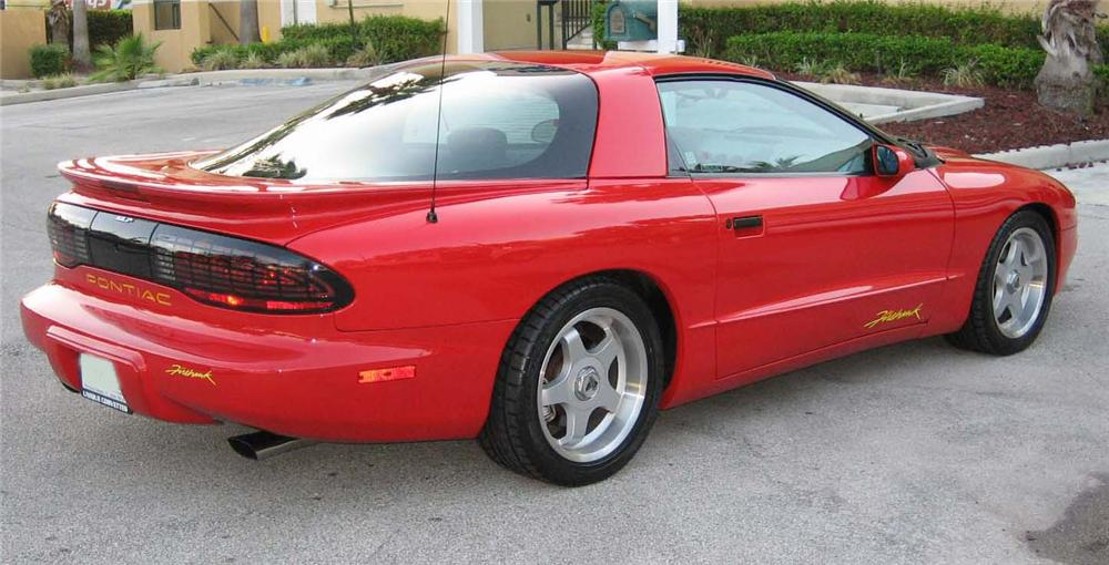 1994 PONTIAC FIREHAWK 2 DOOR COUPE - Rear 3/4 - 89337