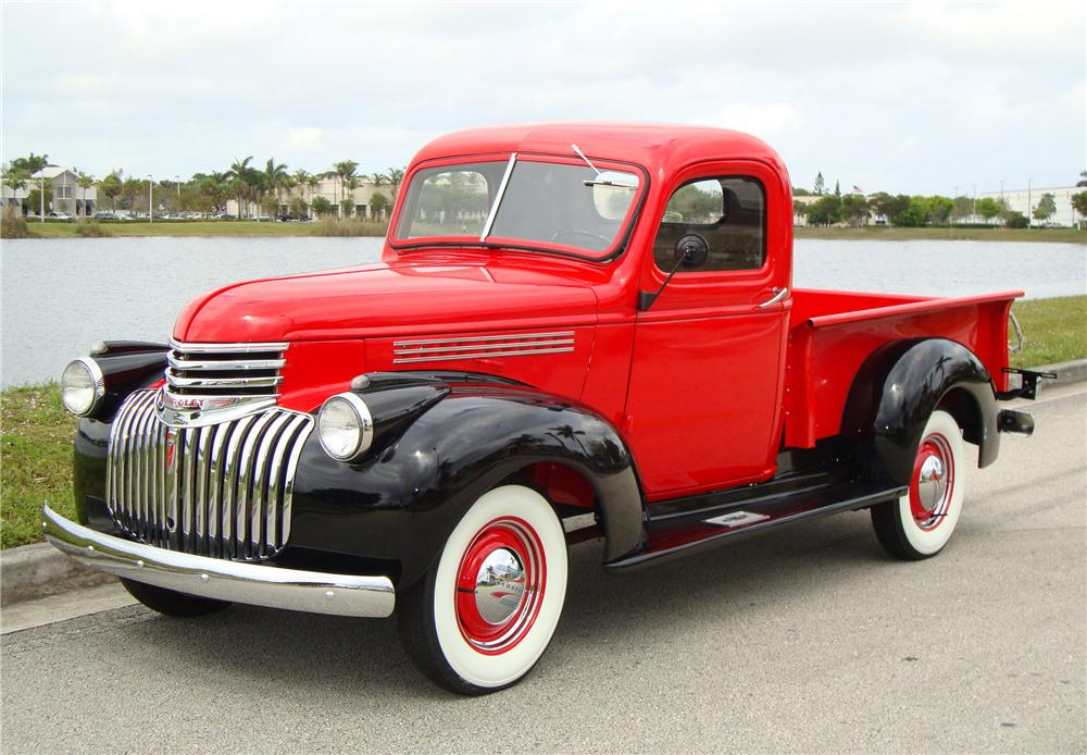 1946 CHEVROLET 1/2 TON PICKUP - Front 3/4 - 89338