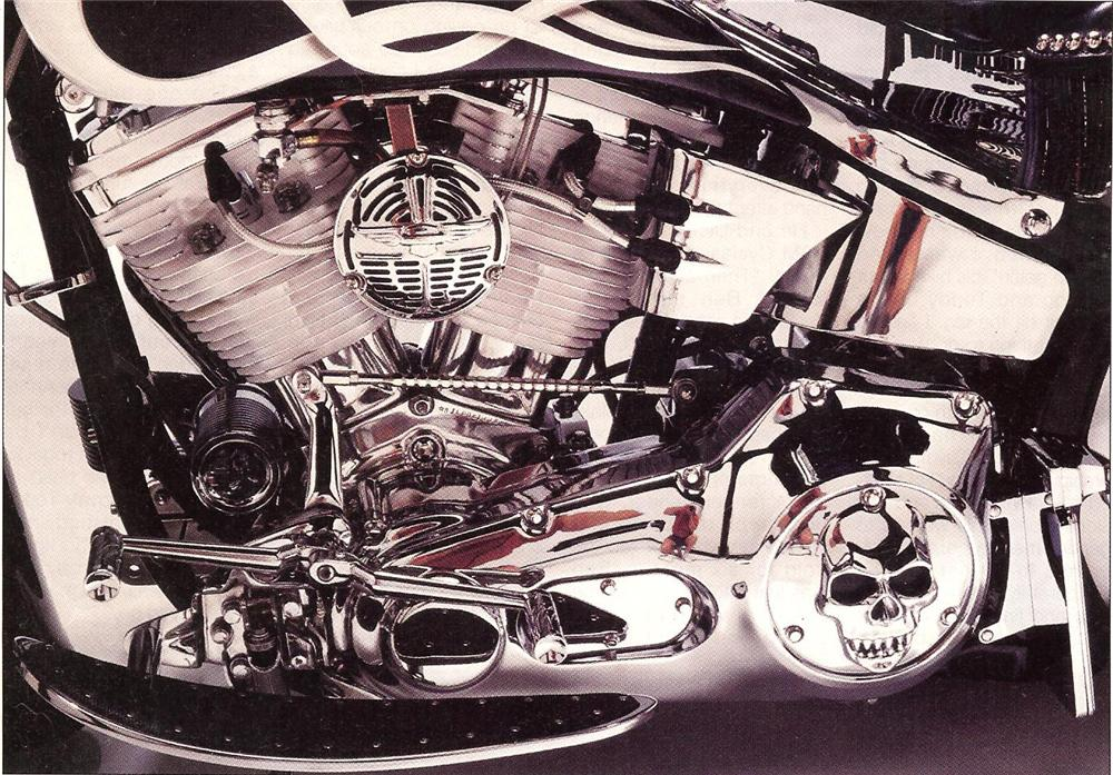 1993 HARLEY-DAVIDSON SOFTAIL CUSTOM MOTORCYCLE - Engine - 89340