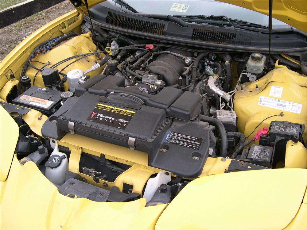 2002 PONTIAC TRANS AM CONVERTIBLE - Engine - 89342