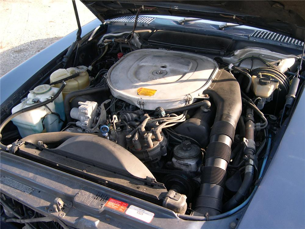 1986 MERCEDES-BENZ 560SL CONVERTIBLE - Engine - 89574