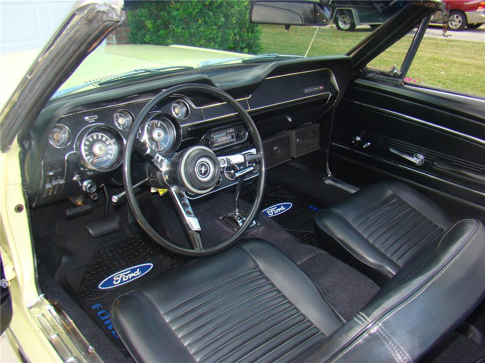 1967 ford mustang convertible interior 89575 - 1967 Ford Mustang Convertible Interior