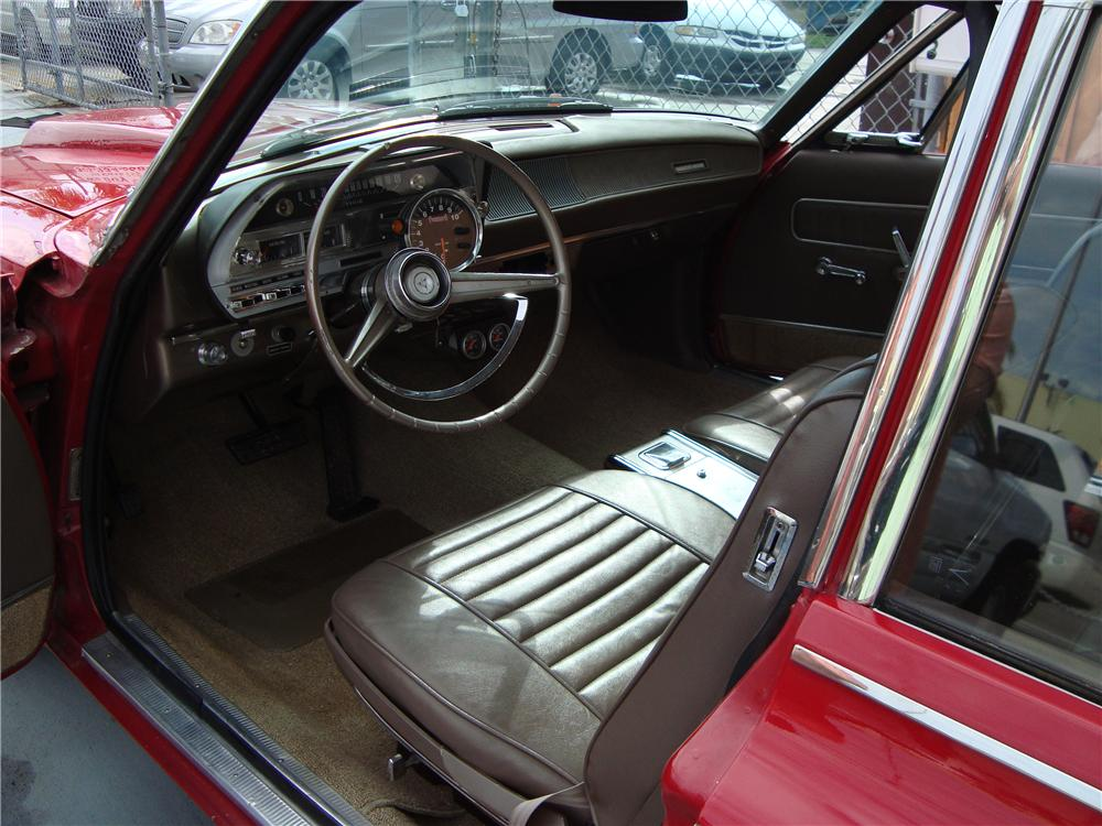 1963 DODGE DART CUSTOM 2 DOOR - Interior - 89579