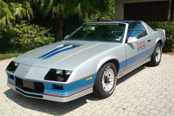 1982 CHEVROLET CAMARO INDY PACE CAR COUPE - Front 3/4 - 89616