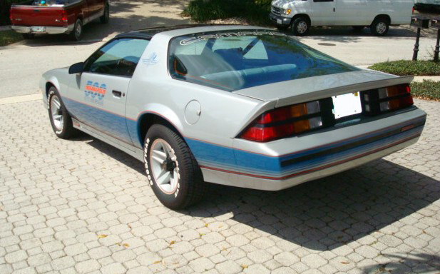 1982 CHEVROLET CAMARO INDY PACE CAR COUPE - Rear 3/4 - 89616