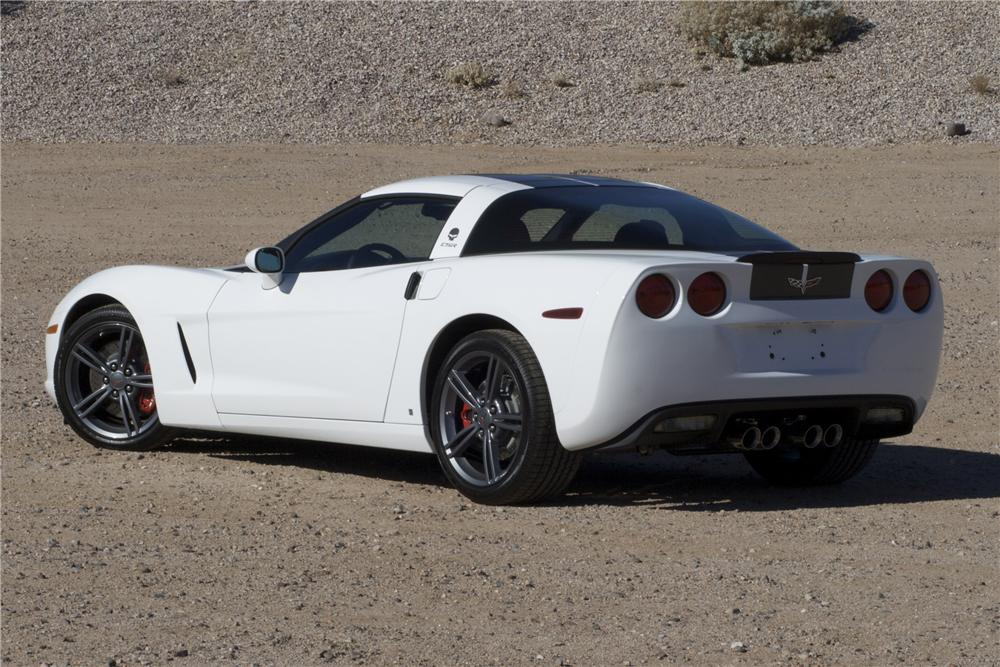 2009 CHEVROLET CORVETTE COUPE LIMITED EDITION - Rear 3/4 - 89623