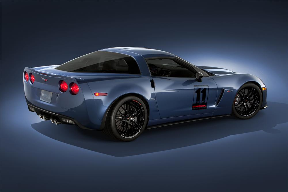 2011 CHEVROLET CORVETTE Z06 - Rear 3/4 - 89624