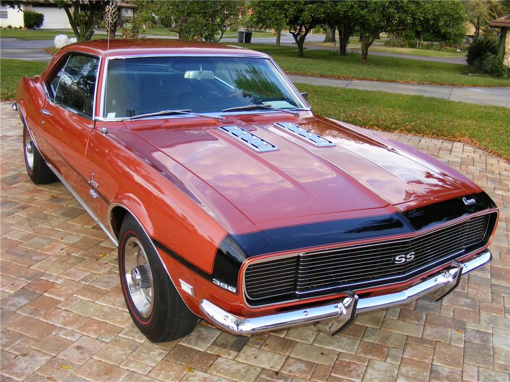 1968 CHEVROLET CAMARO RS/SS 2 DOOR COUPE - Front 3/4 - 89626