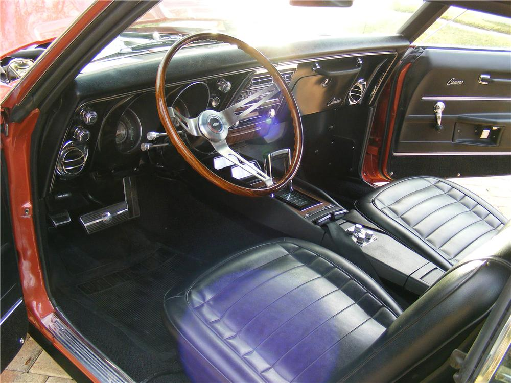 1968 CHEVROLET CAMARO RS/SS 2 DOOR COUPE - Interior - 89626