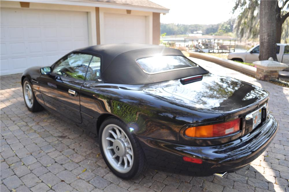 1998 ASTON MARTIN DB 7 VOLANTE CONVERTIBLE - Rear 3/4 - 89628