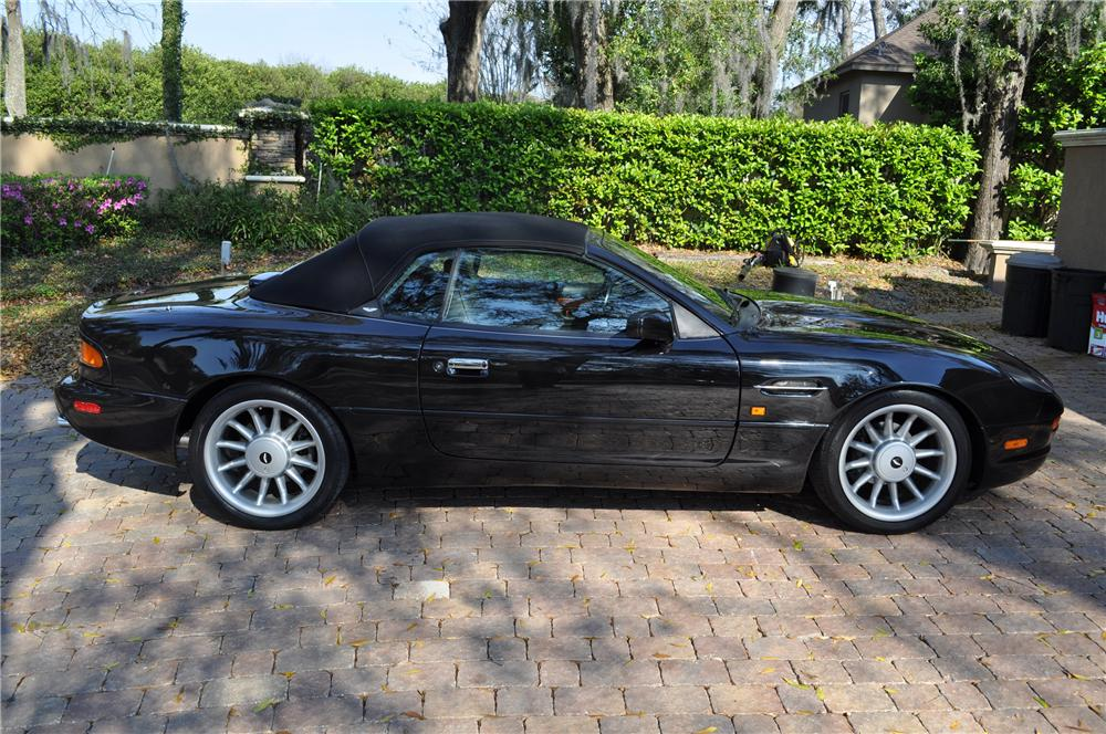 1998 ASTON MARTIN DB 7 VOLANTE CONVERTIBLE - Side Profile - 89628