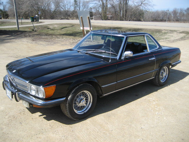 1972 MERCEDES-BENZ 450SL CONVERTIBLE - Front 3/4 - 89629