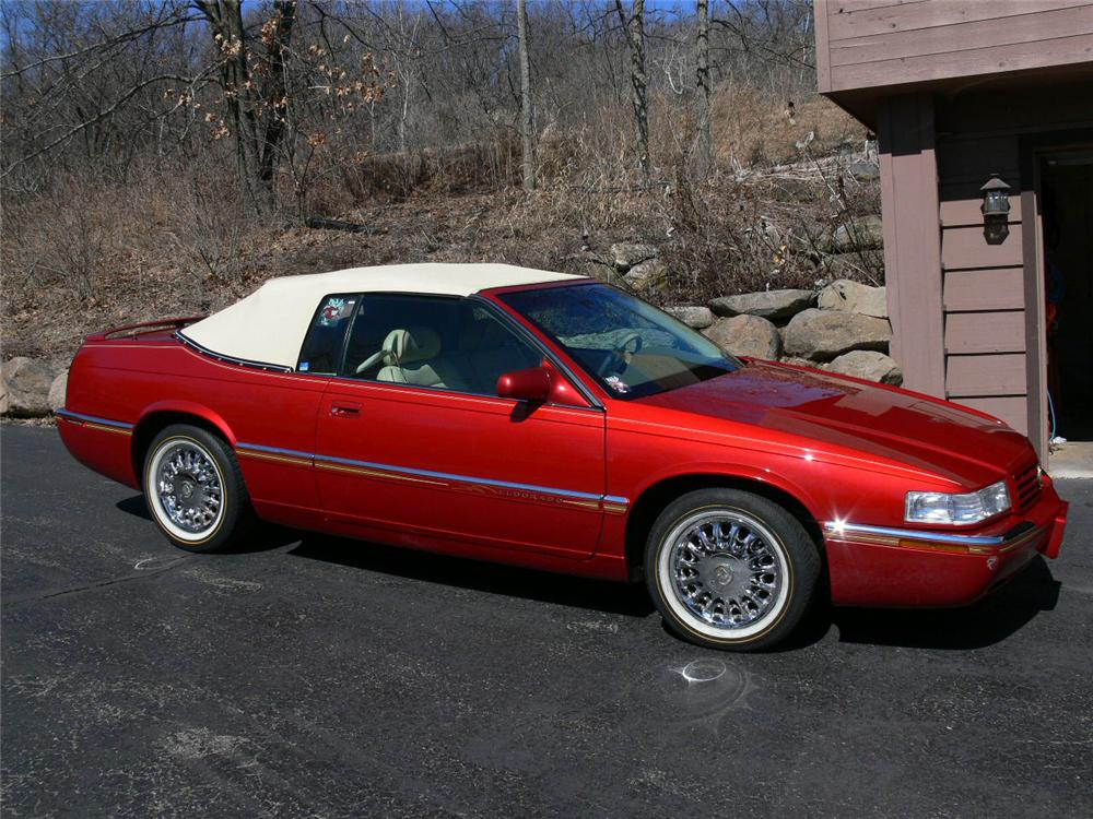 1996 CADILLAC ELDORADO CONVERTIBLE - Side Profile - 89630
