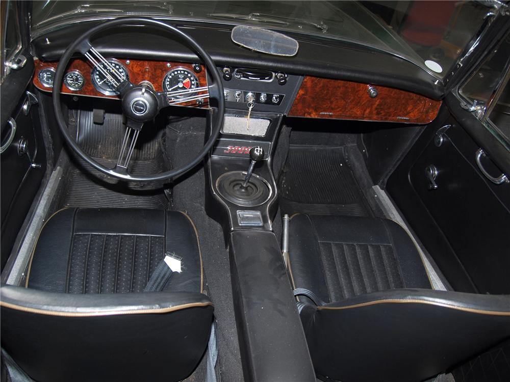 1966 AUSTIN-HEALEY 3000 MARK III BJ8 CONVERTIBLE - Interior - 89631
