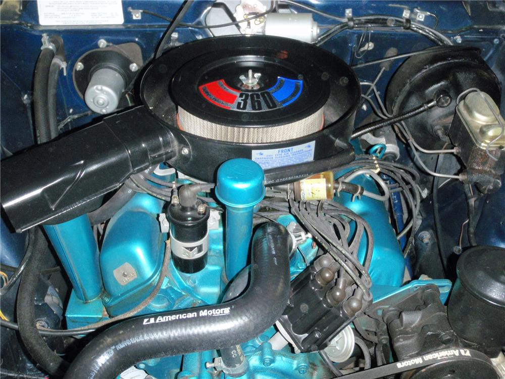 1970 AMERICAN MOTORS JAVELIN 2 DOOR COUPE - Engine - 89639