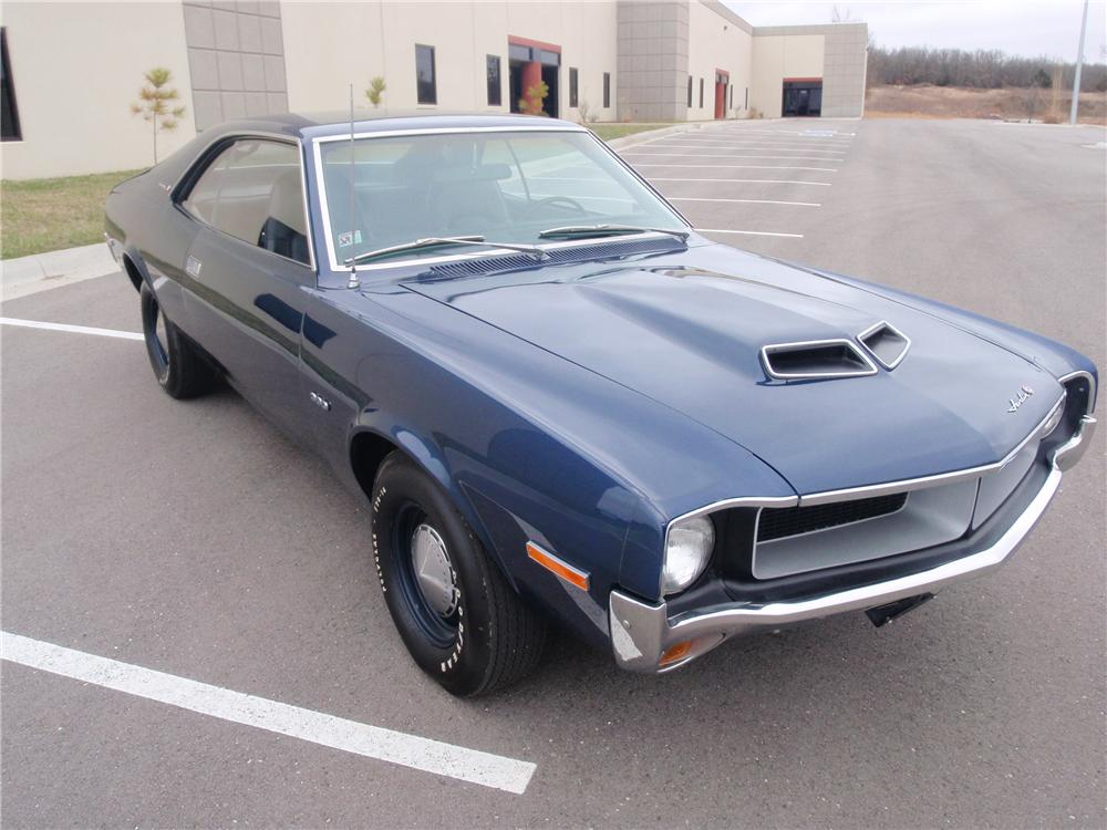 1970 AMERICAN MOTORS JAVELIN 2 DOOR COUPE - Front 3/4 - 89639