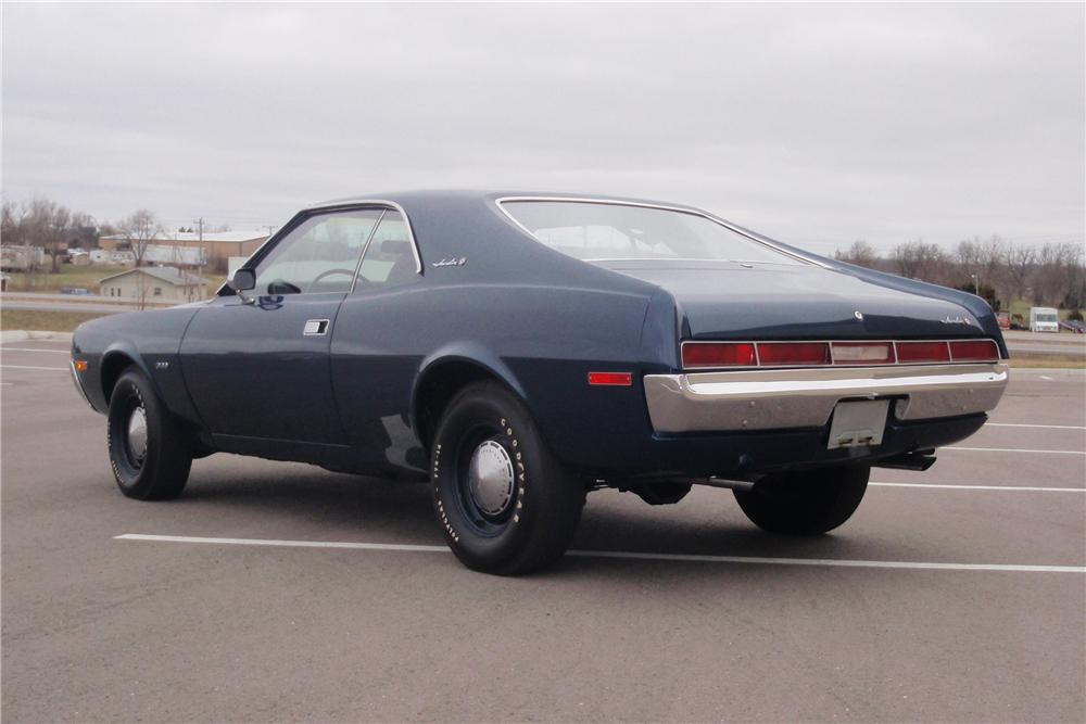 1970 AMERICAN MOTORS JAVELIN 2 DOOR COUPE - Rear 3/4 - 89639