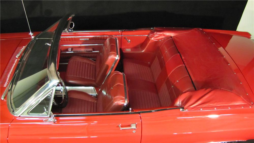 1966 FORD FAIRLANE 500 XL CONVERTIBLE - Interior - 89673