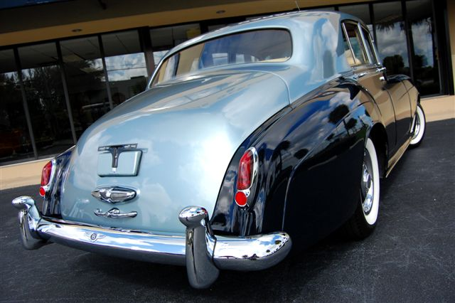 1960 BENTLEY ZER-GREEN 4 DOOR SALOON - Rear 3/4 - 89714