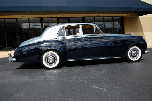 1960 BENTLEY ZER-GREEN 4 DOOR SALOON - Side Profile - 89714