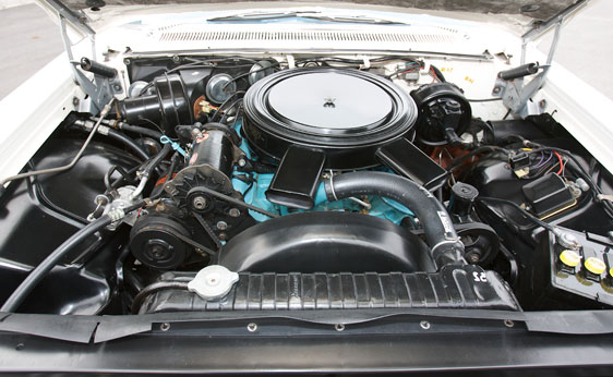 1960 PONTIAC BONNEVILLE TRI-POWER CONVERTIBLE - Engine - 89716
