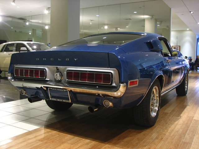 1968 SHELBY GT500 FASTBACK - Rear 3/4 - 89717