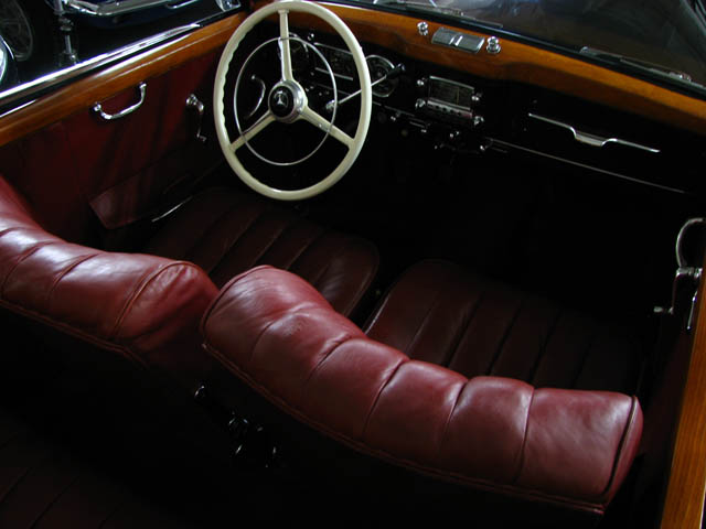 1952 MERCEDES-BENZ 220 2 DOOR CONVERTIBLE - Interior - 89720