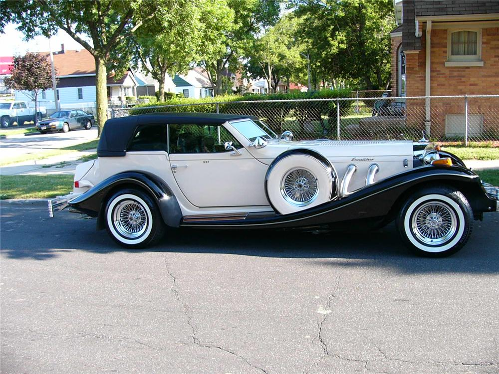 1981 EXCALIBUR PHAETON - Side Profile - 89722